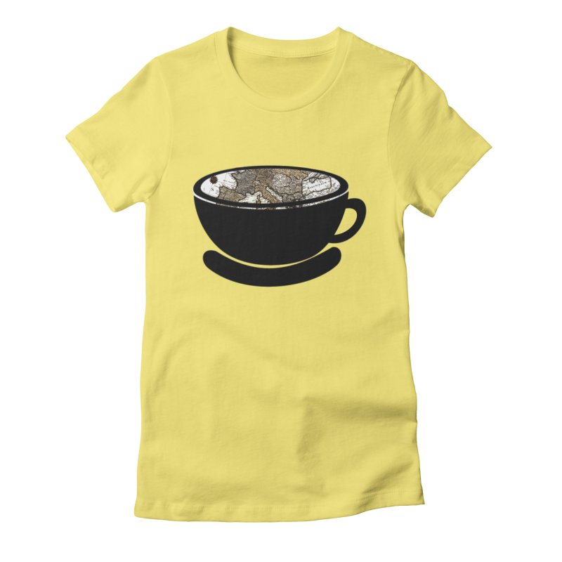 CUP OF WORLD 2 Women's Fitted T-Shirt by gasponce