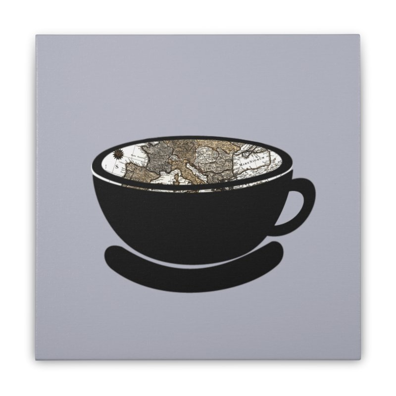 CUP OF WORLD 2 Home Stretched Canvas by gasponce