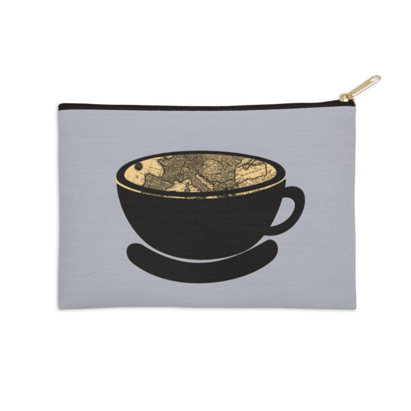 CUP OF WORLD Accessories Zip Pouch by gasponce