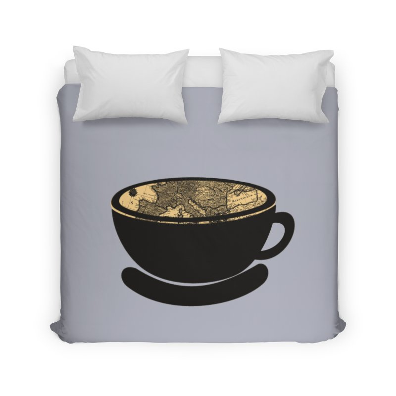 CUP OF WORLD Home Duvet by gasponce