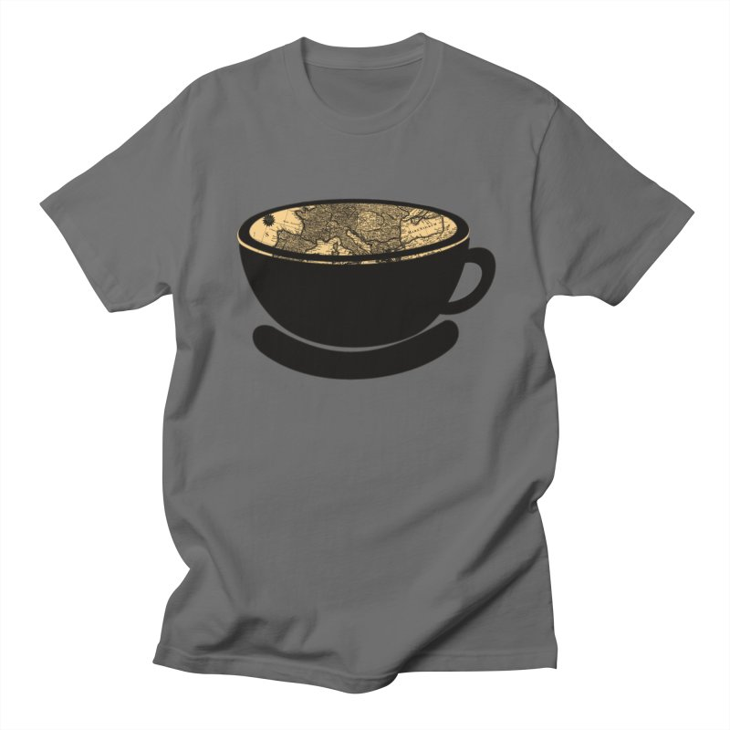 CUP OF WORLD Men's T-Shirt by gasponce