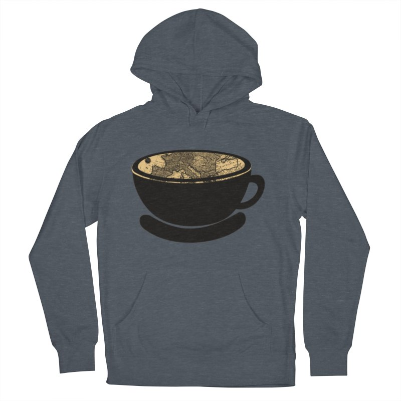 CUP OF WORLD Women's French Terry Pullover Hoody by gasponce