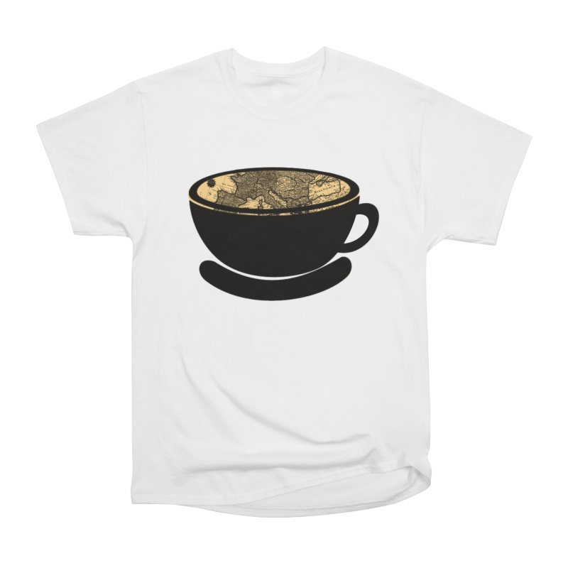 CUP OF WORLD Men's Heavyweight T-Shirt by gasponce