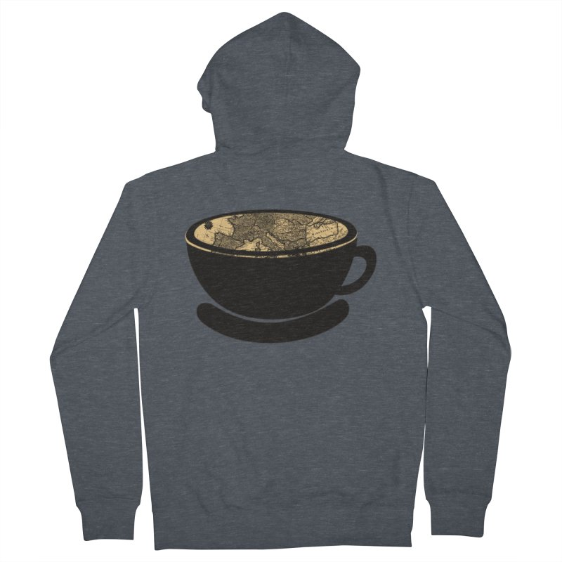 CUP OF WORLD Women's French Terry Zip-Up Hoody by gasponce