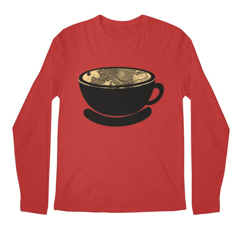CUP OF WORLD Men's Regular Longsleeve T-Shirt by gasponce