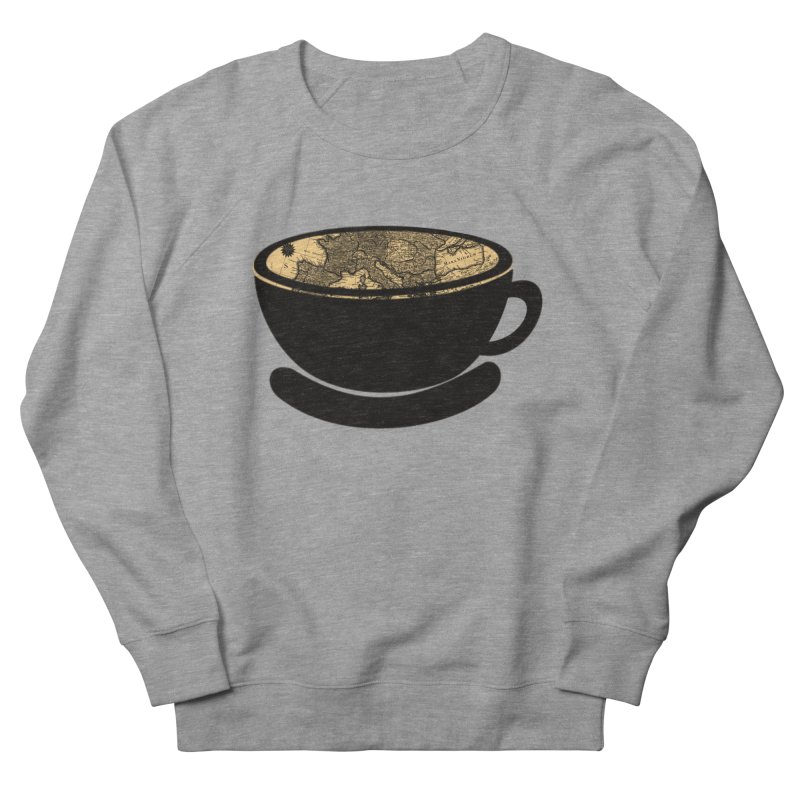 CUP OF WORLD Women's French Terry Sweatshirt by gasponce