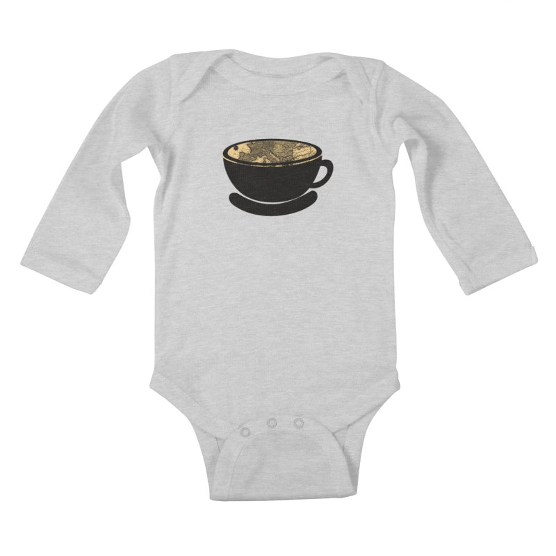 CUP OF WORLD Kids Baby Longsleeve Bodysuit by gasponce