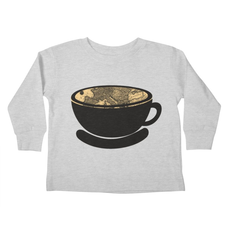 CUP OF WORLD Kids Toddler Longsleeve T-Shirt by gasponce