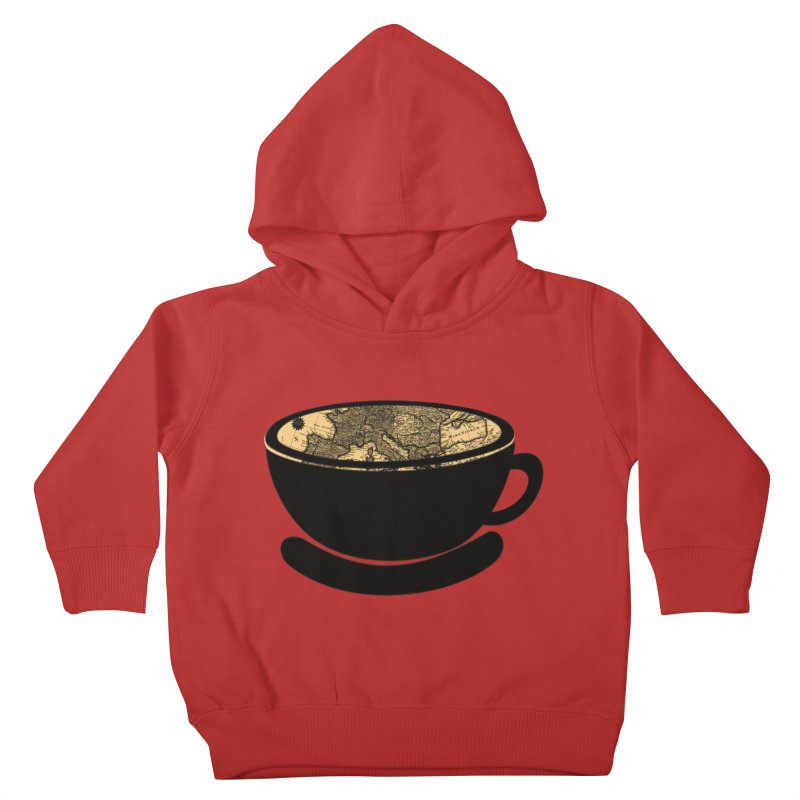 CUP OF WORLD Kids Toddler Pullover Hoody by gasponce