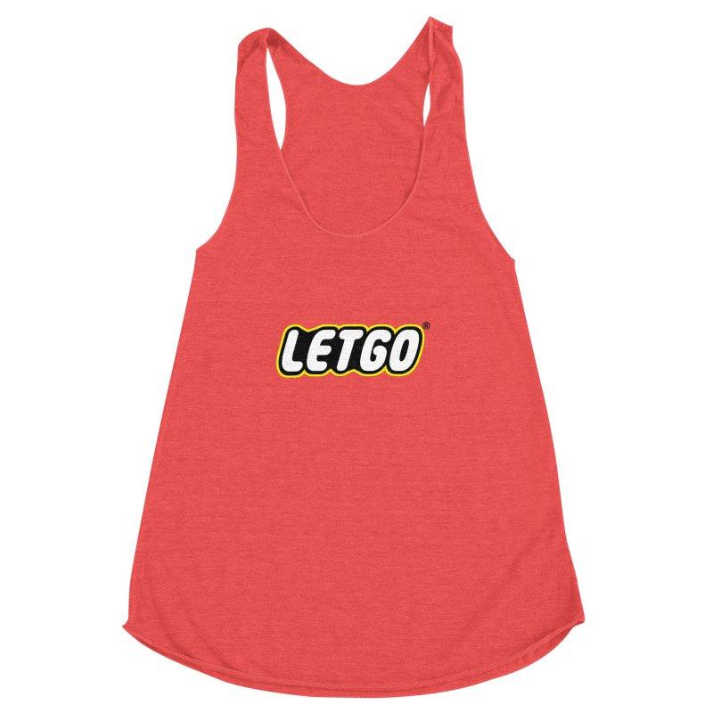 LETGO! Women's Racerback Triblend Tank by gasponce