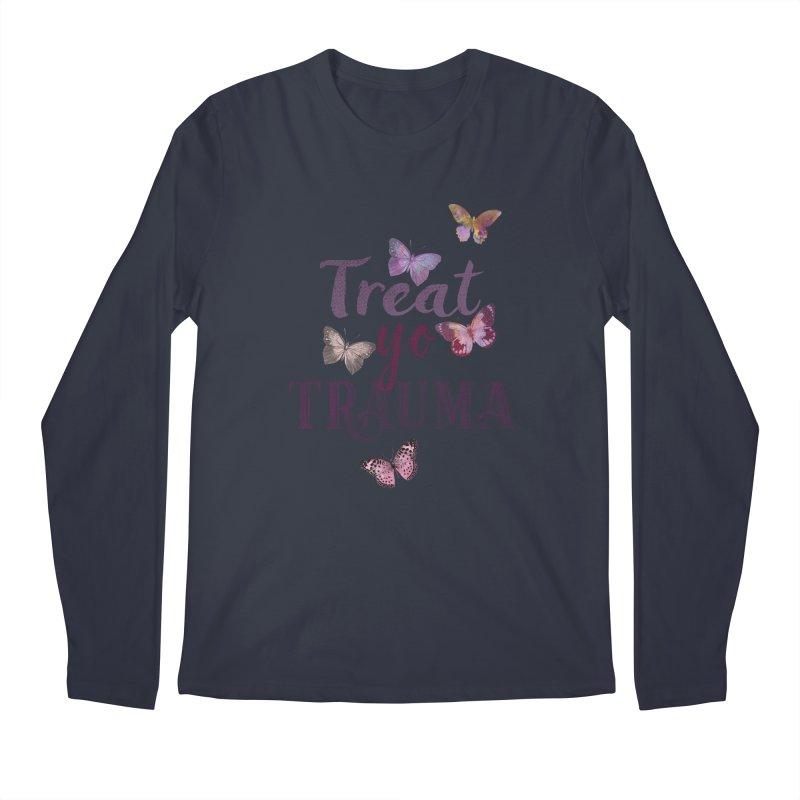 Treat yo Trauma Men's Regular Longsleeve T-Shirt by gasponce