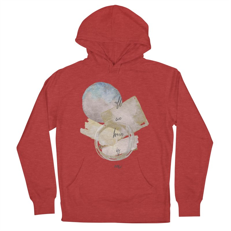 NOW Women's French Terry Pullover Hoody by gasponce