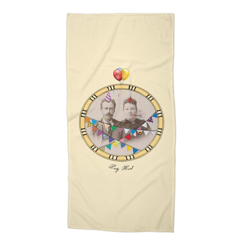PARTY ! Accessories Beach Towel by gasponce