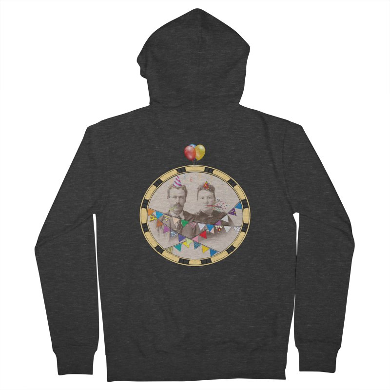 PARTY ! Men's French Terry Zip-Up Hoody by gasponce