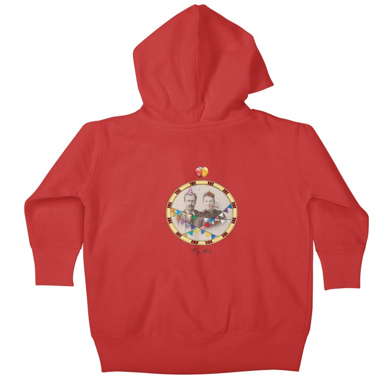 PARTY ! Kids Baby Zip-Up Hoody by gasponce