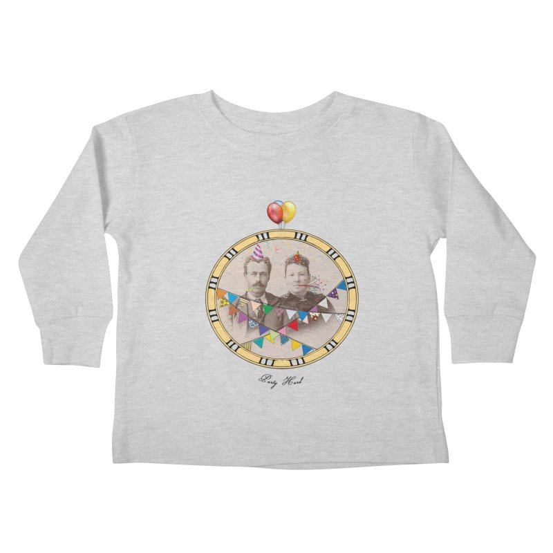 PARTY ! Kids Toddler Longsleeve T-Shirt by gasponce