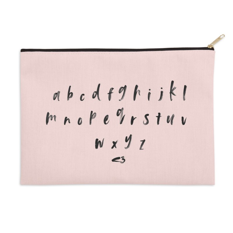 Abcd nope! Accessories Zip Pouch by gasponce
