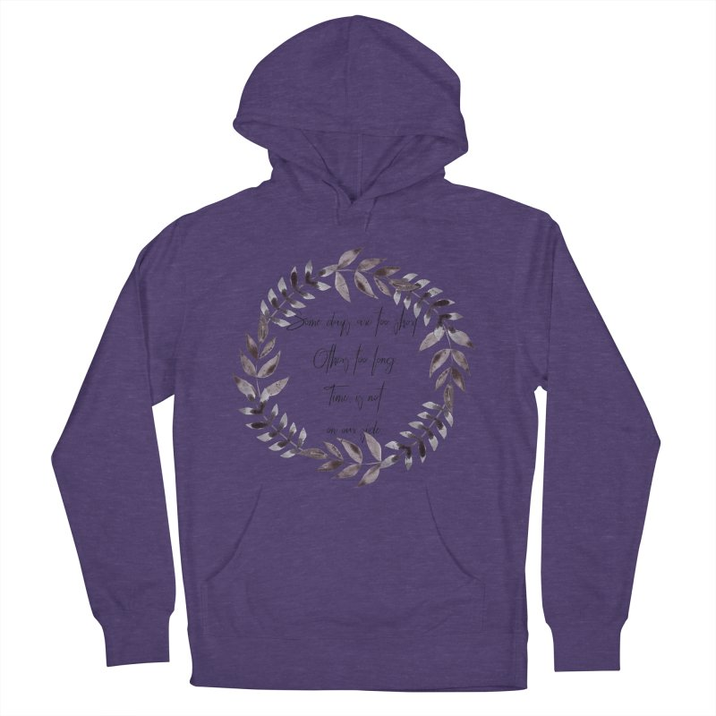 Time Women's French Terry Pullover Hoody by gasponce