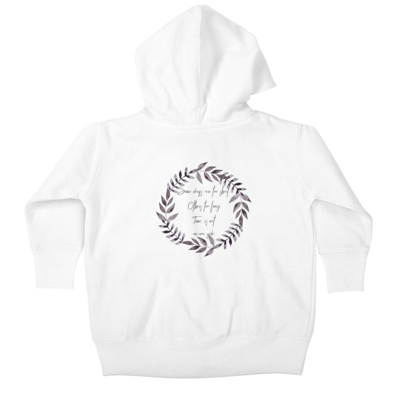 Time Kids Baby Zip-Up Hoody by gasponce