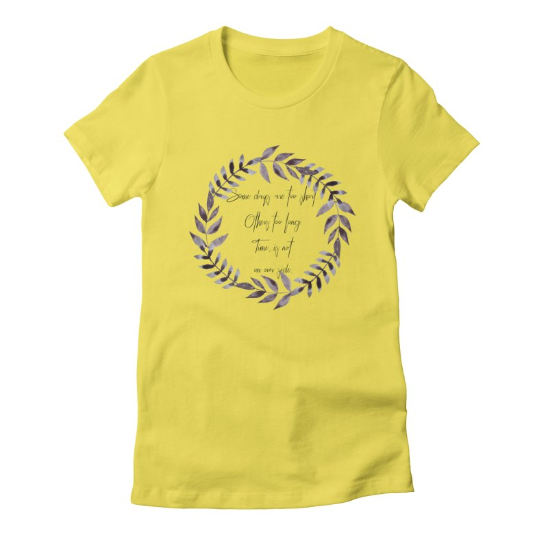 Time Women's T-Shirt by gasponce