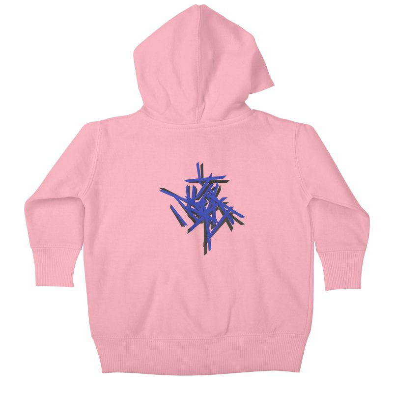 PSYCHE 2 Kids Baby Zip-Up Hoody by gasponce