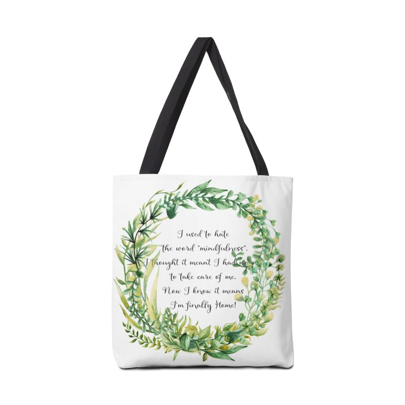 Body & Mind Accessories Tote Bag Bag by gasponce