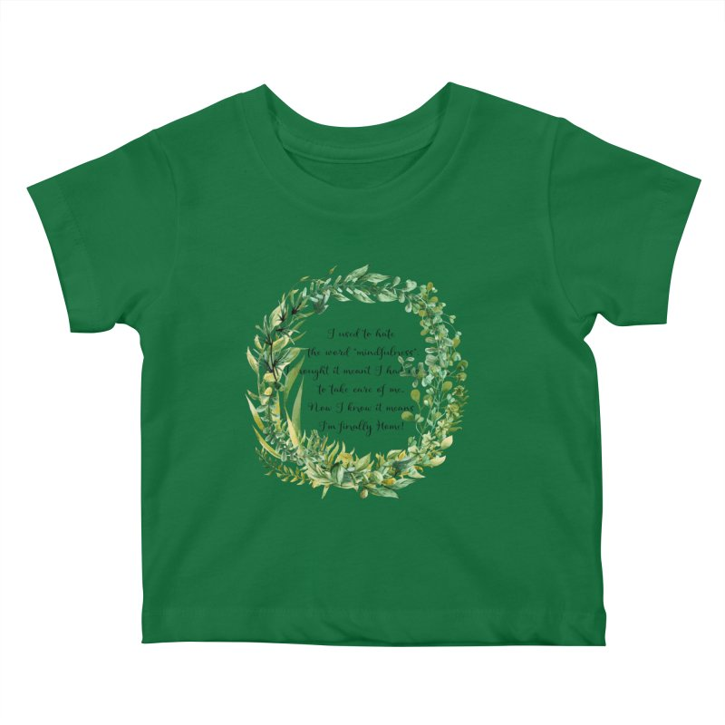 Body & Mind Kids Baby T-Shirt by gasponce