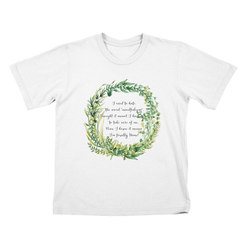 Body & Mind Kids T-Shirt by gasponce