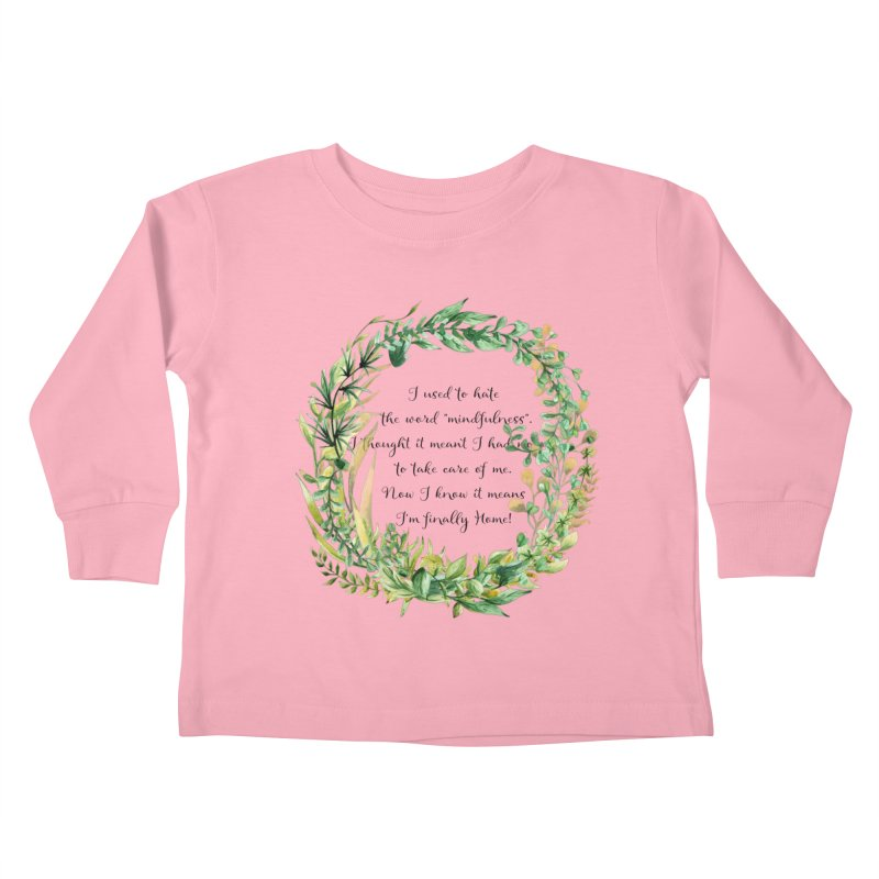 Body & Mind Kids Toddler Longsleeve T-Shirt by gasponce
