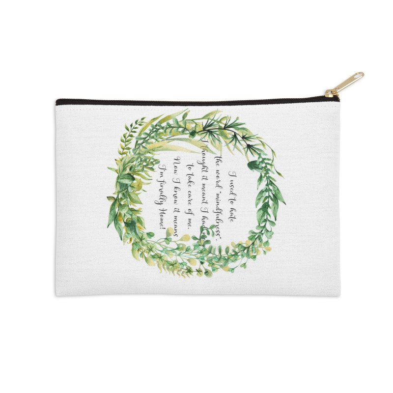 Body & Mind Accessories Zip Pouch by gasponce