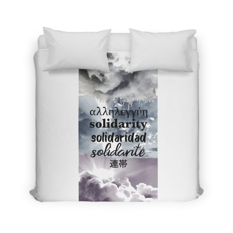 SOLIDARITY Home Duvet by gasponce