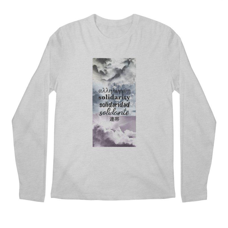 SOLIDARITY Men's Regular Longsleeve T-Shirt by gasponce