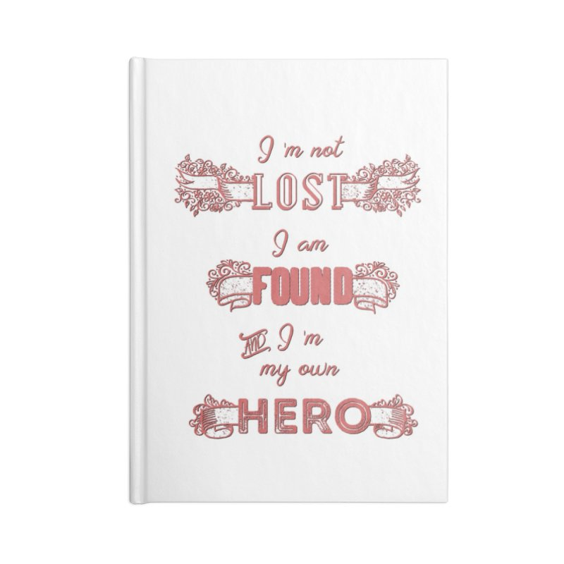 HERO Accessories Blank Journal Notebook by gasponce