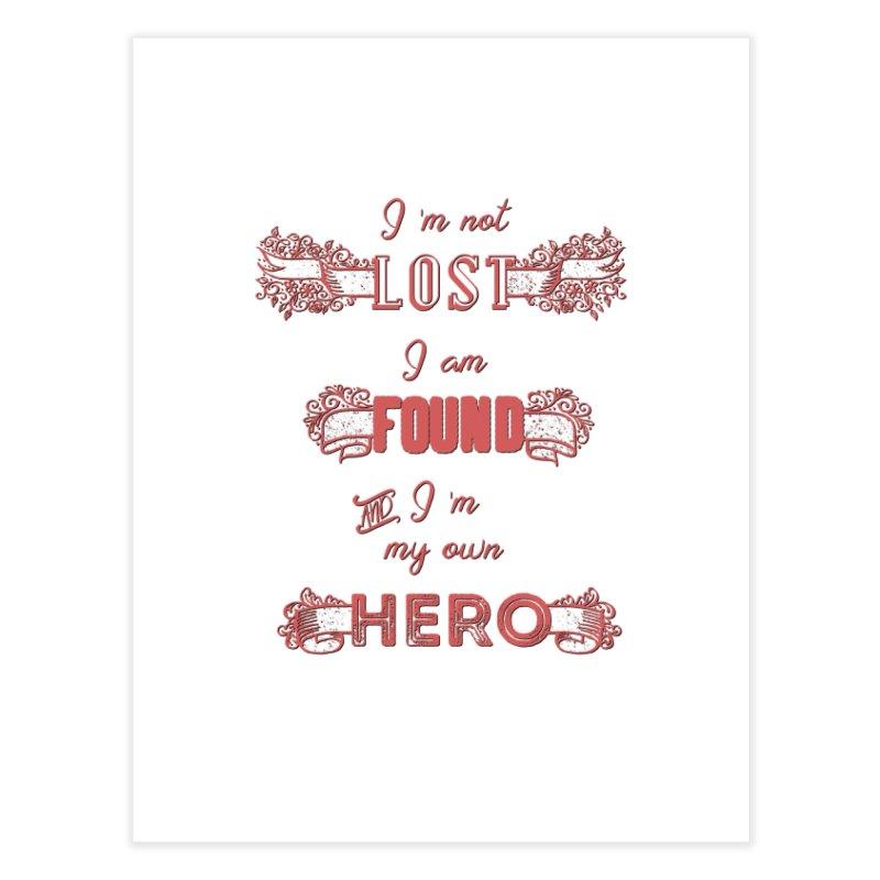 HERO Home Fine Art Print by gasponce