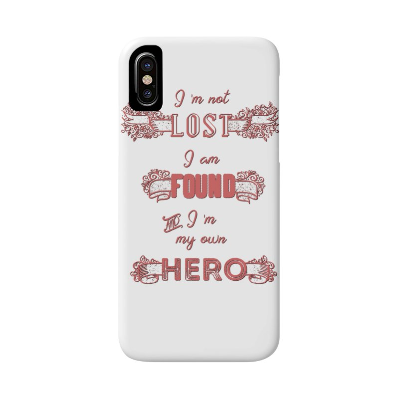 HERO Accessories Phone Case by gasponce