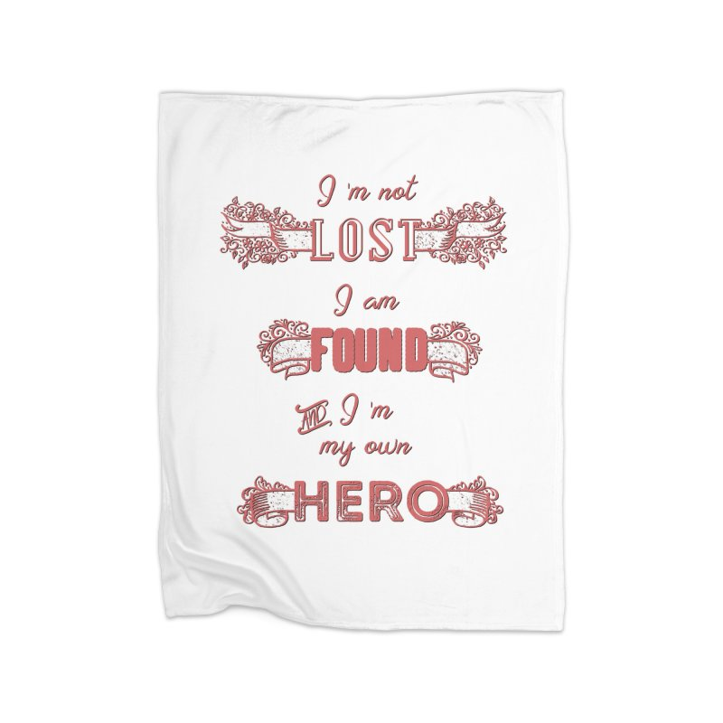 HERO Home Fleece Blanket Blanket by gasponce