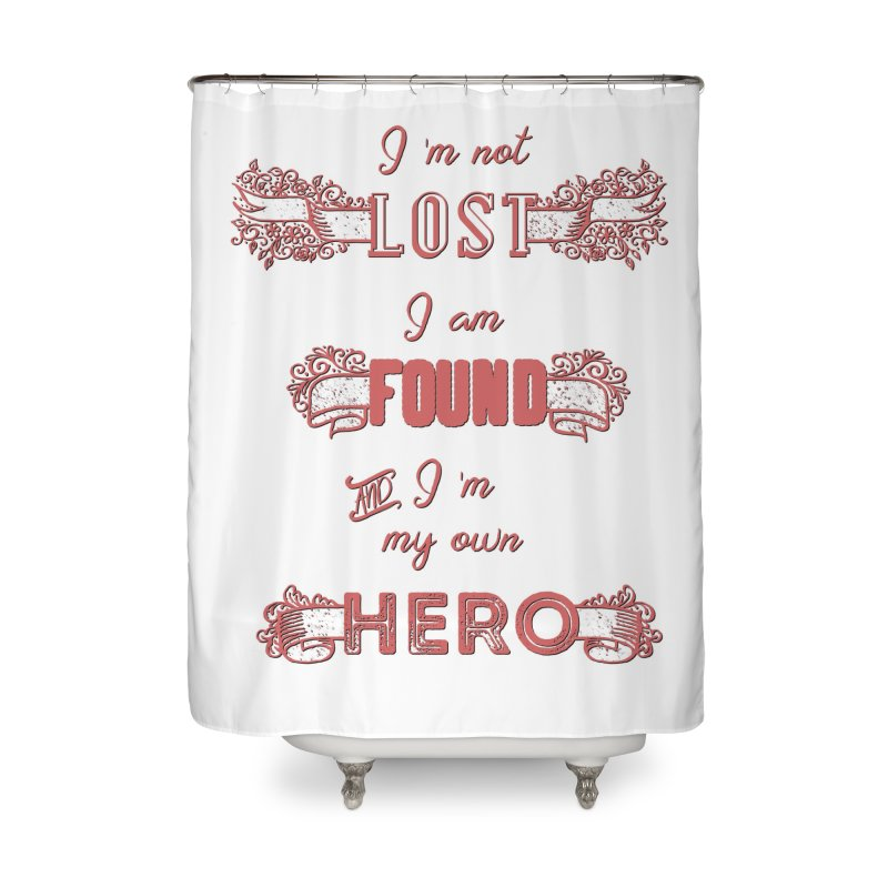 HERO Home Shower Curtain by gasponce