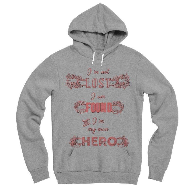HERO Men's Sponge Fleece Pullover Hoody by gasponce