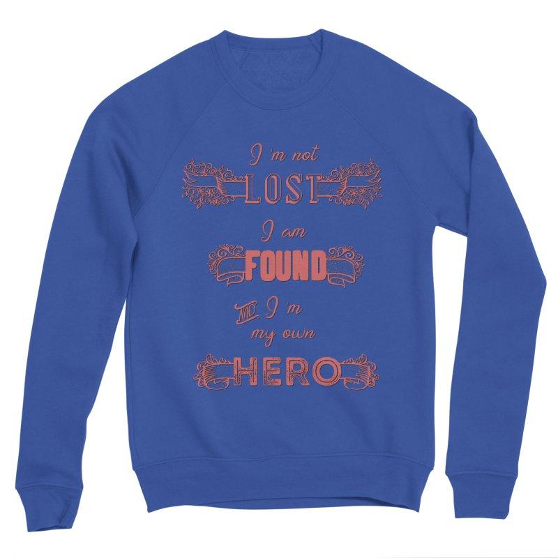 HERO Men's Sponge Fleece Sweatshirt by gasponce