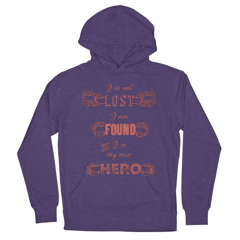 HERO Women's French Terry Pullover Hoody by gasponce