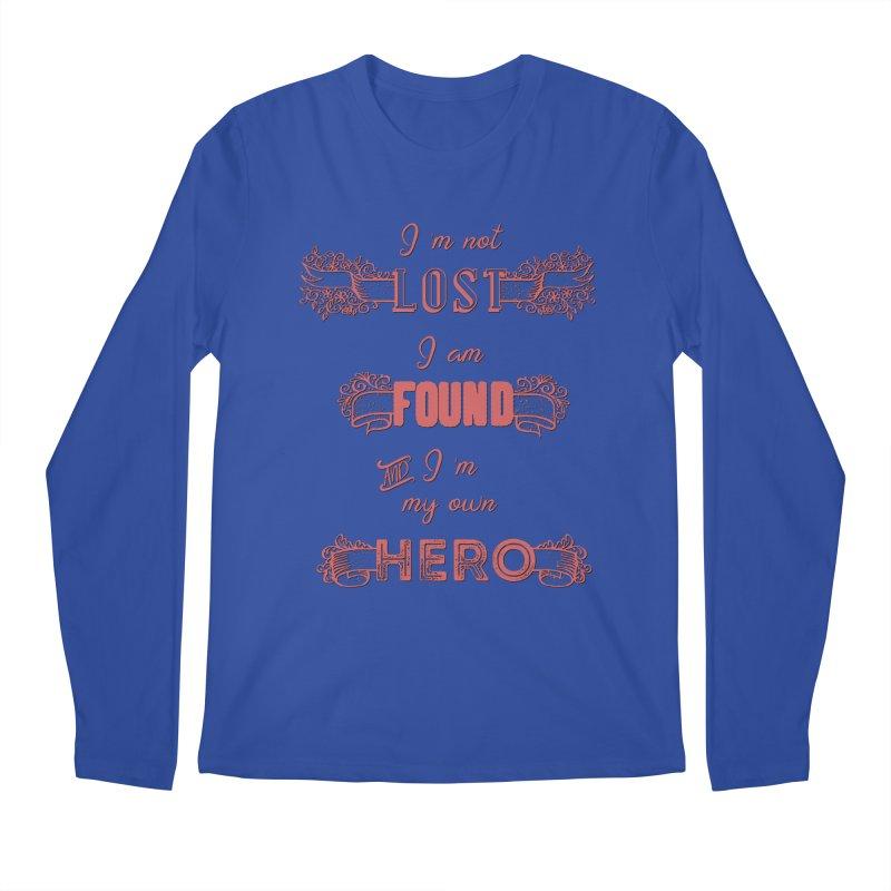 HERO Men's Regular Longsleeve T-Shirt by gasponce