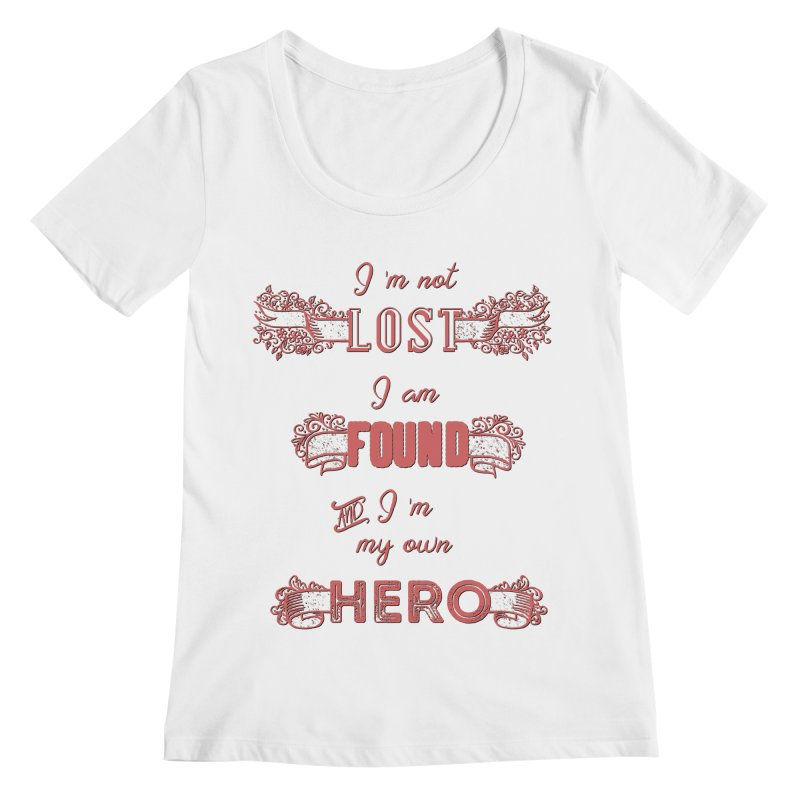 HERO Women's Regular Scoop Neck by gasponce