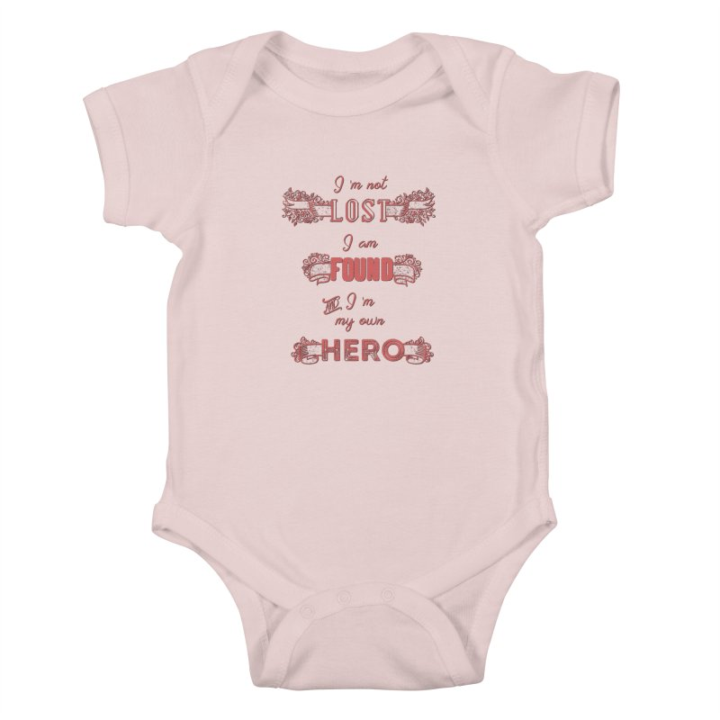 HERO Kids Baby Bodysuit by gasponce