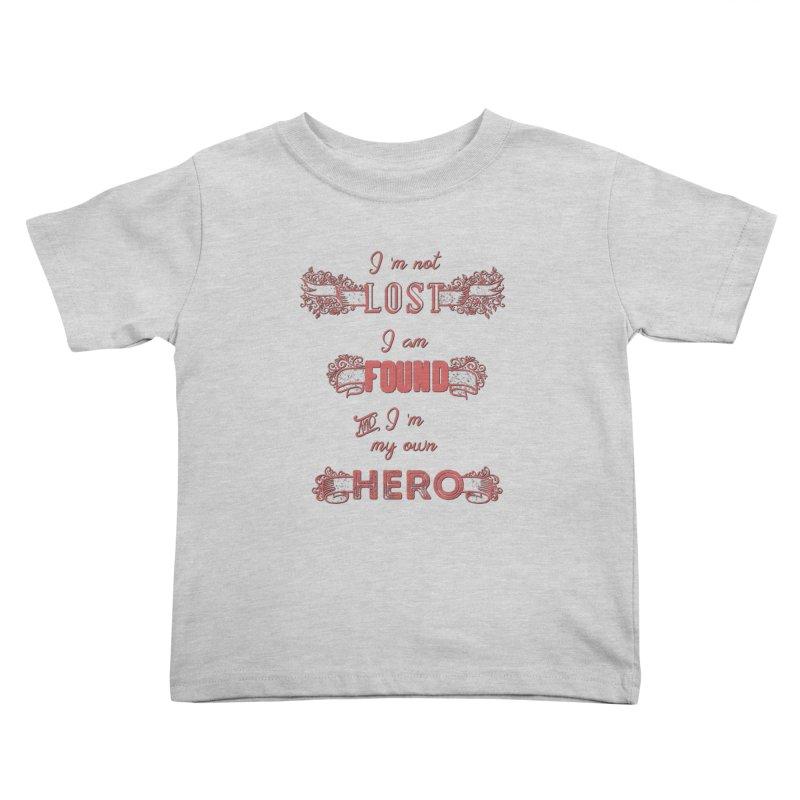 HERO Kids Toddler T-Shirt by gasponce