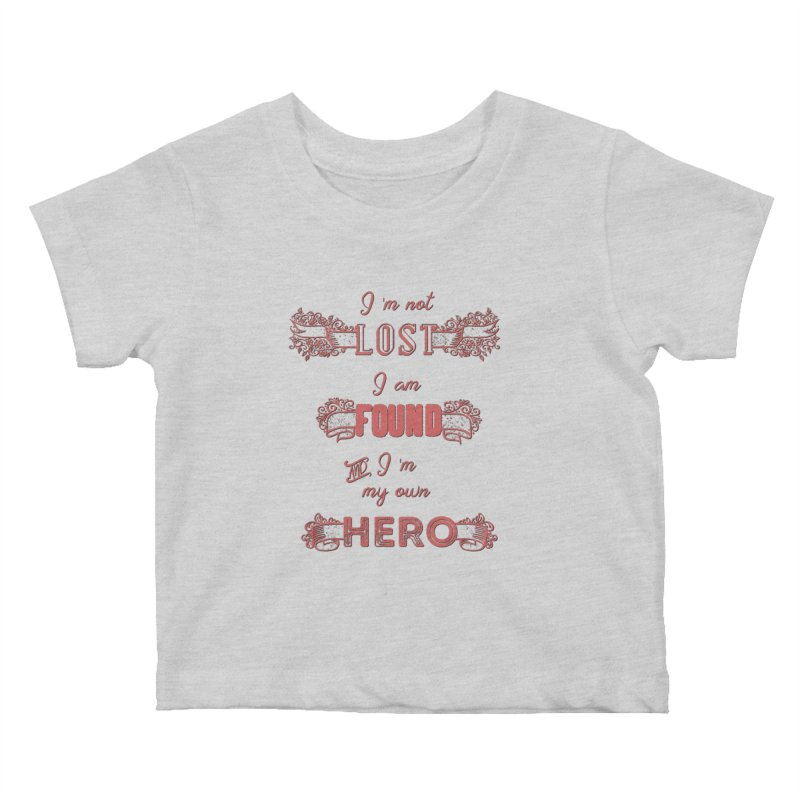 HERO Kids Baby T-Shirt by gasponce