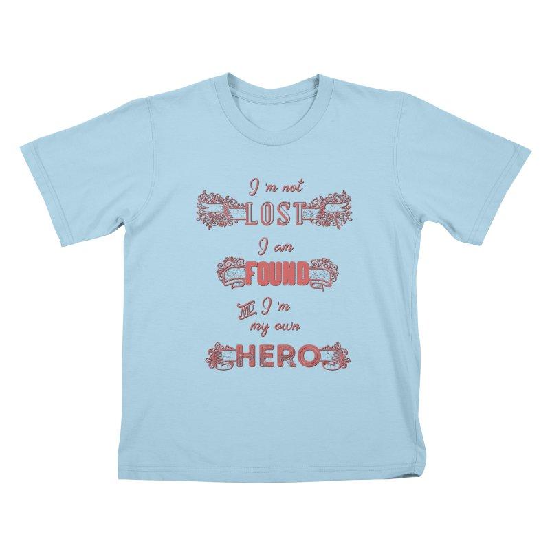 HERO Kids T-Shirt by gasponce
