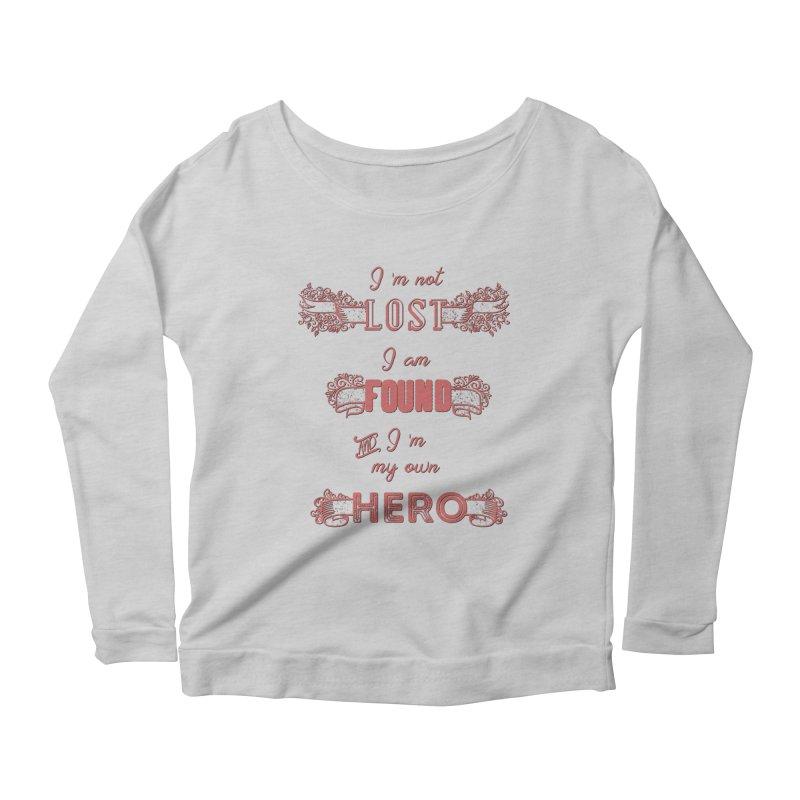 HERO Women's Scoop Neck Longsleeve T-Shirt by gasponce