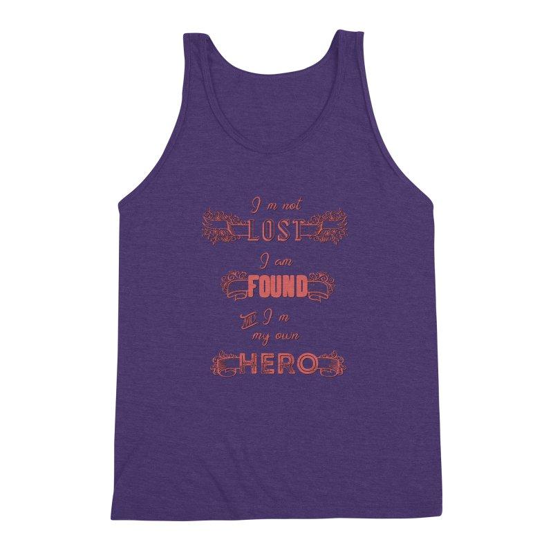 HERO Men's Triblend Tank by gasponce