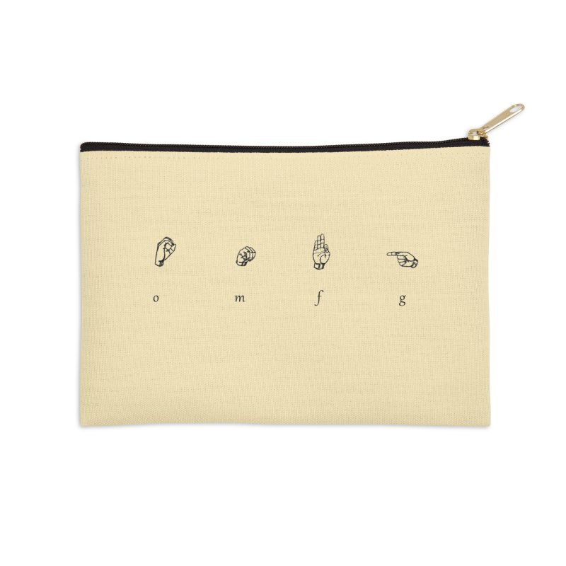 OMfG Accessories Zip Pouch by gasponce