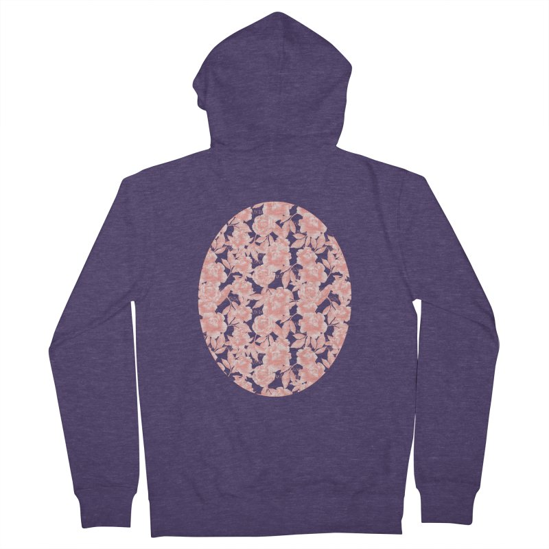 F*CK FEELINGS! CORAL Men's French Terry Zip-Up Hoody by gasponce